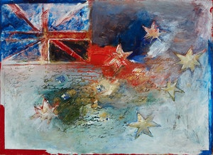 Artwork by Pat O'Hara, Australia #4 (Flag C)