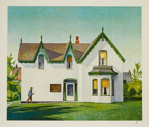 Artwork by Alfred Joseph Casson, A.J. Casson: The Group of Seven Commemorative Anniversary Suite; Folio One: Oil Paintings