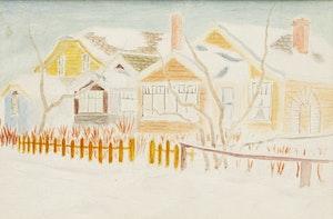 Artwork by Stanley Brunst, Brunst House, Saskatoon