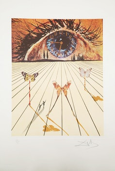 Artwork by Salvador Dali, Memories of Surrealism