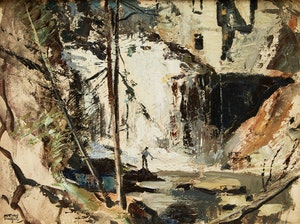Artwork by John Adrian Darley Dingle, Abstract Landscape