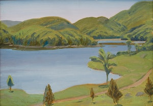 Artwork by Thomas Harold Beament, Otter Lake