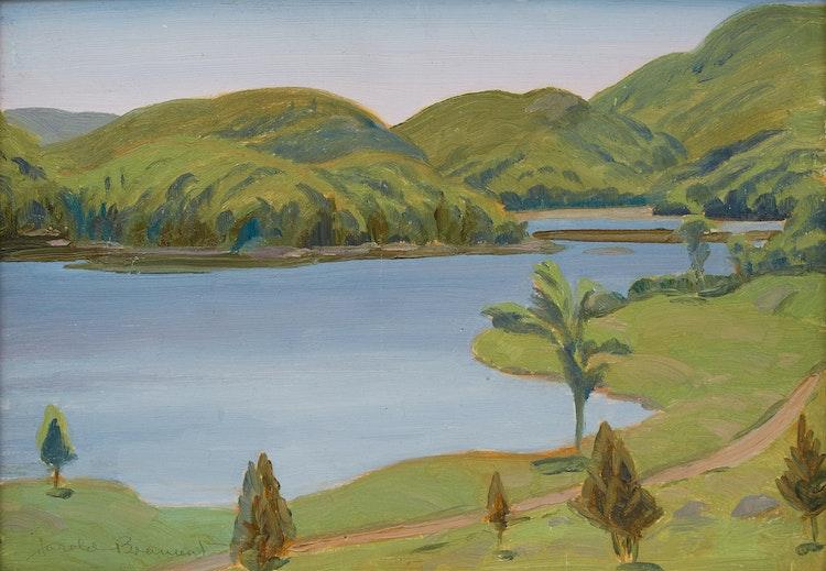 Artwork by Thomas Harold Beament,  Otter Lake