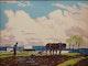 Thumbnail of Artwork by Joseph Sidney Hallam,  The Plowman