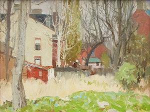 Artwork by George Franklin Arbuckle, Kingston, Ontario