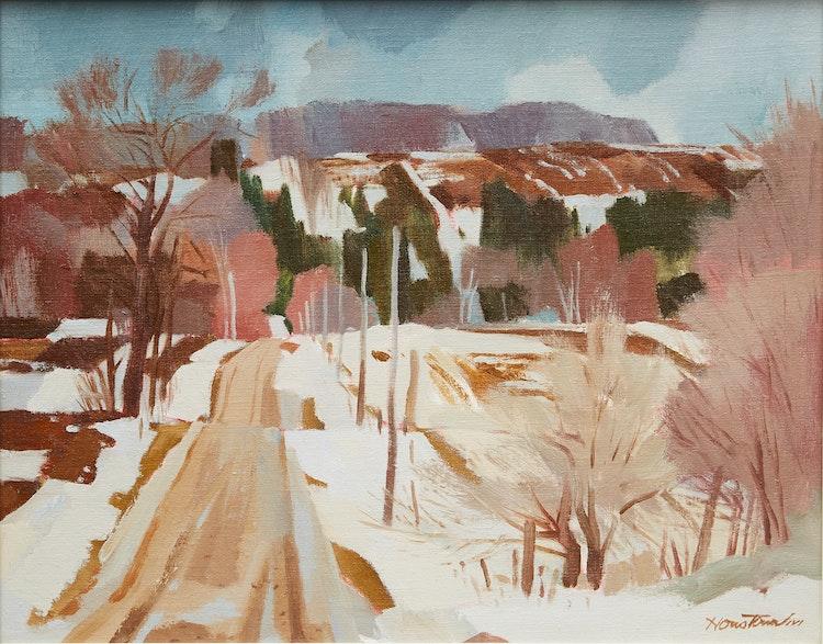 Artwork by Donald Mackay Houstoun,  Approaching Spring