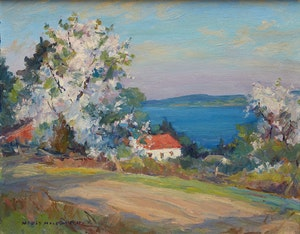 Artwork by Manly Edward MacDonald, Blossoms, Hay Bay