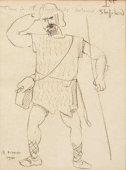 Artwork by Arthur Lismer, 1st Shepherd Study