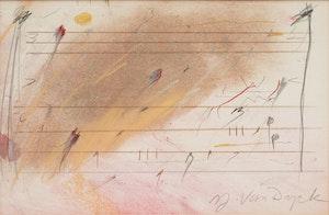 Artwork by Yolanda Van Dyck, Christmas in Music