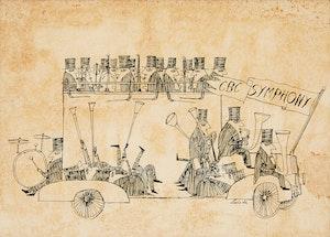 Artwork by Louis de Niverville, CBC Symphony