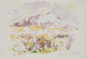 Artwork by Robert Francis Michael McInnis, After Cezanne