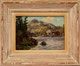 Thumbnail of Artwork by Caleb Keene,  Cottage on the Lake