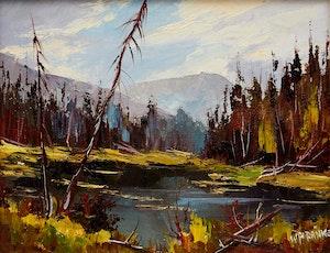 Artwork by Walter Pranke, October Evening