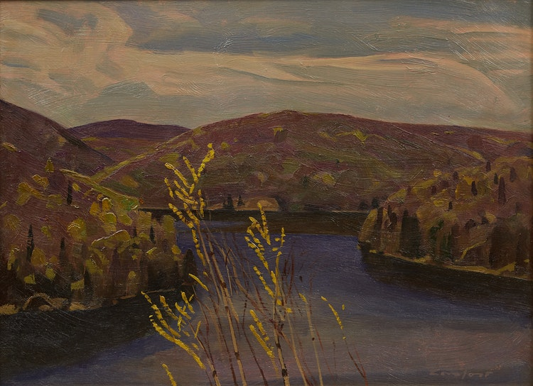 Artwork by Charles Fraser Comfort,  Yuke's Lake, Early Spring