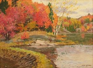 Artwork by Thomas Albert Stone, Old Beaver Dam