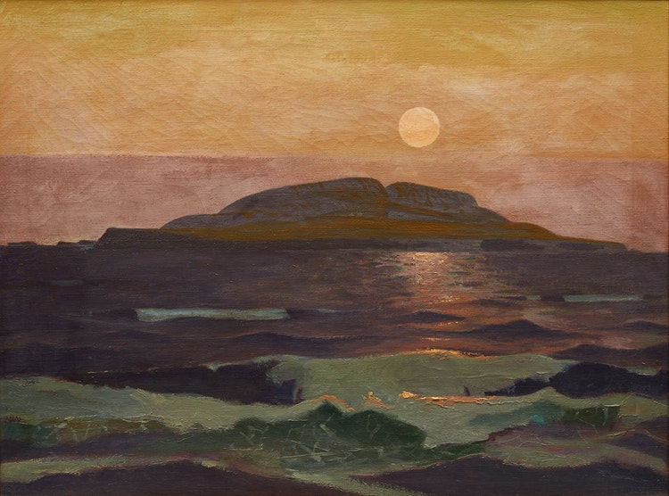 Artwork by Charles Fraser Comfort,  August Noon, Ingonish, Cape Breton