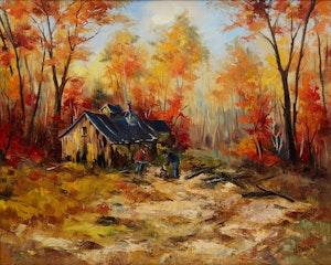 Artwork by Walter Pranke, St. Canut, Lachute, Quebec