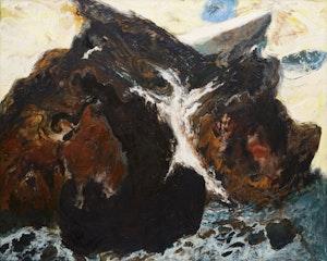 Artwork by Susanna Heller, Glacier Ghost, 1988
