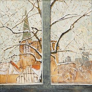 Artwork by Robert Francis Michael McInnis, Tree and Window Series, Winter