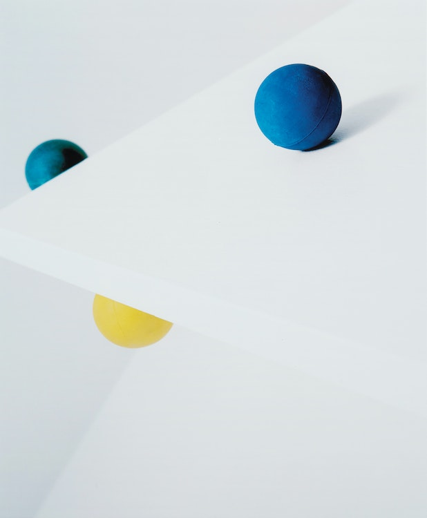 Artwork by Jessica Eaton,  Spatial Relation 27 (2009)