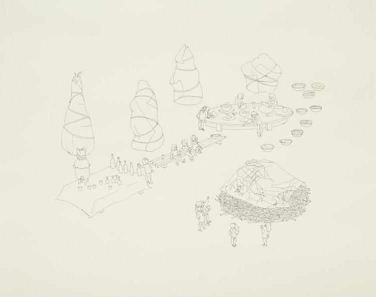 Artwork by Olia Mishchenko,  Untitled (Calendar) (2012)
