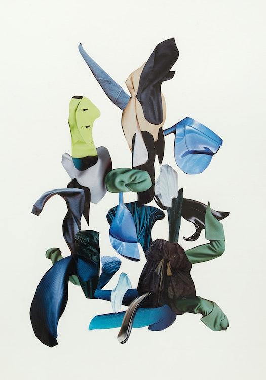 Artwork by Gary Evans,  Aquarium