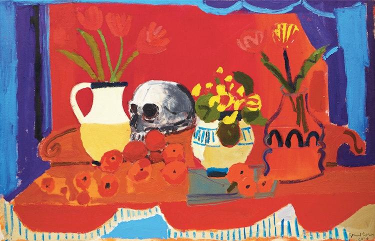 Artwork by Gerard Collins,  Vanitas Painting