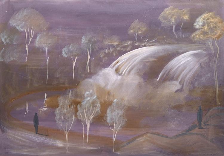 Artwork by Wanda Koop,  An Evening Without Angels