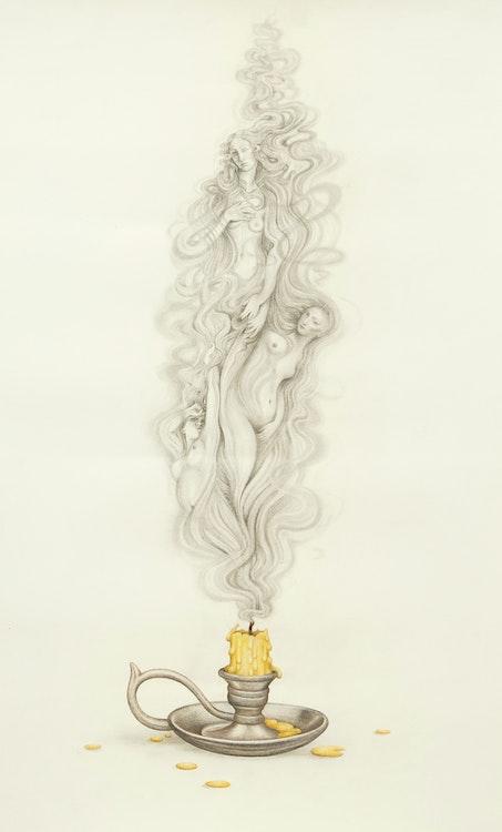 Artwork by Aurel Schmidt,  Three Venuses (2012)