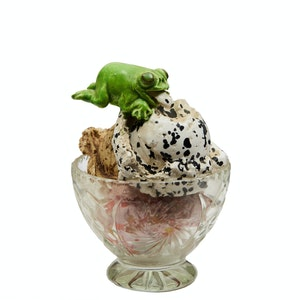 Artwork by David James Gilhooly, 3 Scoop Sundae