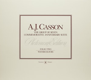 Artwork by Alfred Joseph Casson, A.J. Casson: The Group of Seven Commemorative Anniversary Suite; Folio Two: Watercolours