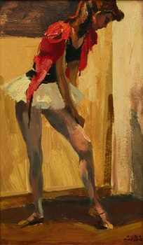 Artwork by Hilton MacDonald Hassell, Ballerina