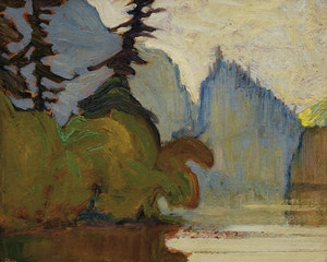 Artwork by James Edward Hervey MacDonald, Agawa Canyon, Algoma