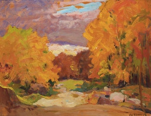 Artwork by John William Beatty, Fall Colours