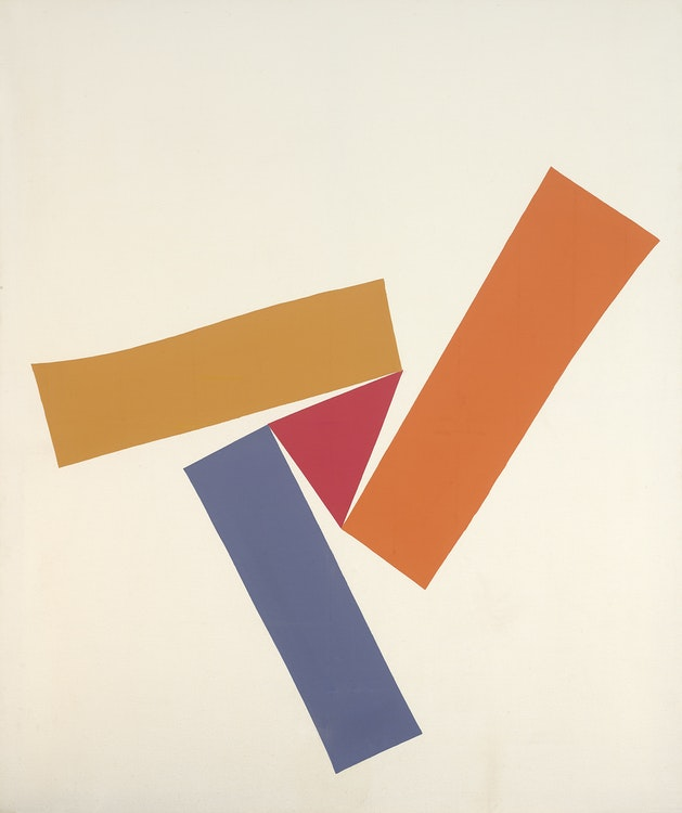 Artwork by Kenneth Campbell Lochhead,  Colour Rotation