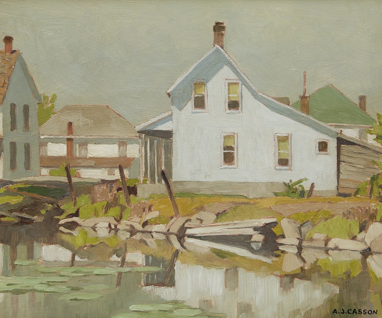 Artwork by Alfred Joseph Casson,  Arden Village