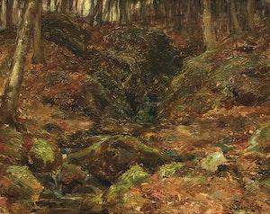Artwork by Marc-Aurèle de Foy Suzor-Coté, Ravin sur la colline