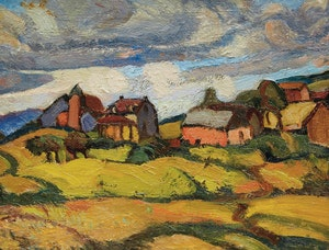 Artwork by Henrietta Mabel May, Paysage