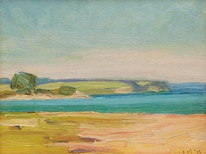 Artwork by James Edward Hervey MacDonald, Shoreline Landscape