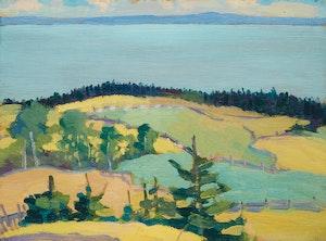 Artwork by Sarah Margaret Robertson, Shoreline Landscape