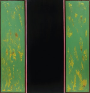 Artwork by Jean Albert McEwen, Vert-noir-vert