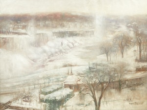 Artwork by John Wentworth Russell, Niagara Falls