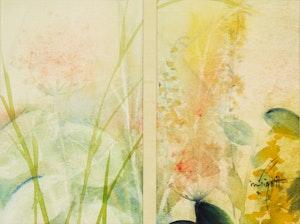 Artwork by Marjorie Pigott, Untitled Floral Study