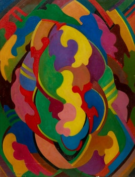 Artwork by Arthur Lidstone, Abstraction