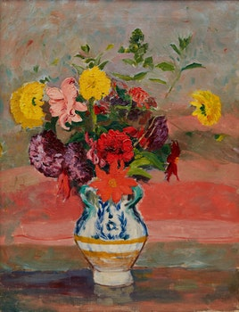 Artwork by Robert Wakeham Pilot, Bouquet de fleurs