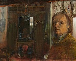 Artwork by Joseph Francis Plaskett, The Artist at 2 Rue Pecquay