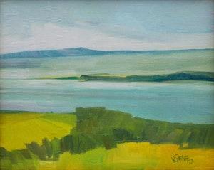 Artwork by Claude Le Sauteur, La Pointe de L'Île (d'Orléans)