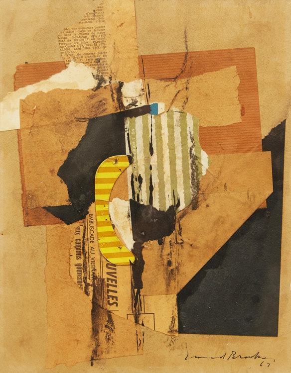 Artwork by Frank Leonard Brooks,  Abstraction