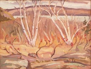 Artwork by Ralph Wallace Burton, Clear Lake, Ontario