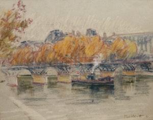 Artwork by Joseph Francis Plaskett, Parisian Scene